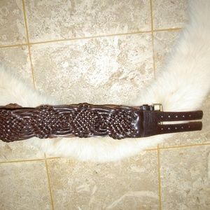 Leather women's Belt